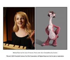 Melissa Rauch in Ice Age: Collision Course Ice Age Collision Course, Adam Devine, Blue Sky Studios, Melissa Rauch, A Bug's Life, The New Yorker, Looney Tunes, Childrens Books, Pixar