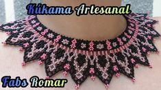 Crochet Necklace, Crochet Patterns, Ornaments, Diy, Jewelry, Youtube, Chokers, Creativity, Manualidades