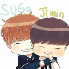 Suga & Jimin chibi  BTS