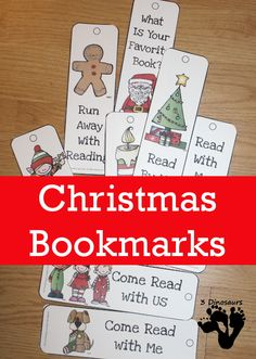 My girls are always looking for bookmarks for their book. We love changing up the bookmarks with each season. My girls asked for some Christmas themed ones. Christmas Makes, Christmas Books, Christmas Themes, Kids Christmas, Xmas, Christmas 2019, Merry Christmas, Preschool Christmas Activities, Enrichment Activities