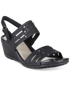 Ecco Women's Touch 45 Wedge Sandals