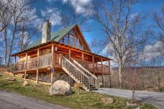 A Cabin of Dreams - A Cabin of Dreams is located on Bluff Mountain in Pigeon Forge, just minutes from restaurants and area attractions!