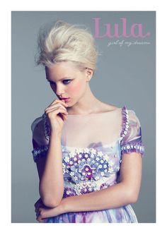 helårsprenumeration på Lula Magazine ...amazing dress
