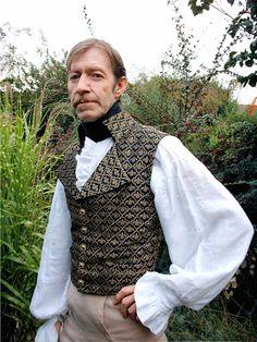 Regency 1812 waistcoat.