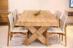 פינות אוכל מעוצבות מבית קומפי Woodworking Inspiration, Dining Table, Furniture, Home Decor, Houses, Decoration Home, Room Decor, Dinner Table, Home Furnishings