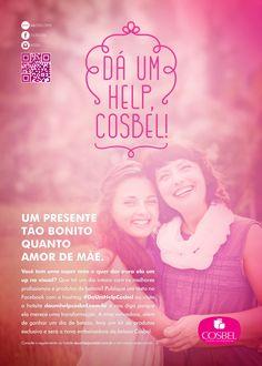 O Dá Um Help Cosbel é um projeto muito bem sucedido da A+ e da Cosbel. Alta repercussão nas redes sociais e a transformação na vida de uma consumidora da loja. Essa é só uma pequena amostra dos resultados que a agência de publicidade alcança com essa campanha. Agora com o Dá Um Help Cosbel 2, a agência faz uma publicidade voltada para a temática de Dia das Mães. A A+ e a Cosbel direcionam a campanha para as consumidoras que são mães e para as mães das consumidoras da loja.