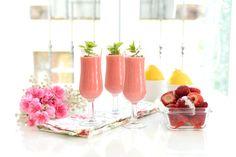 Receta de Sorbete de fresas. congela las fresas en temporada y así tendrás fresas para sorbetes y helados durante todo el verano.
