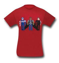 Captain America Winter Trio 30 Single T-Shirt