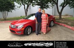 https://flic.kr/p/J9ES7q | Happy Anniversary to Martin on your #Mercedes-Benz #C-Class from David Stewart at Autos of Dallas! | deliverymaxx.com/DealerReviews.aspx?DealerCode=L575