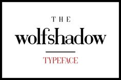Wolf Shadow by Esquivel Type Foundry on Creative Market