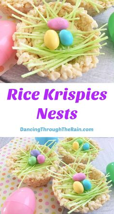 Whether you need an easy dessert for spring or Rice Krispie treats for Easter, this Rice Krispies Nests recipe is bound to be a hit! As Rice Krispies Treats go, these are fun and fantastic!