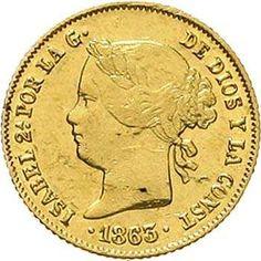 Philippines 4 Peso gold 1863. KM 144. Fb. 1. very fine / extremley fine, margin fault  Dealer Teutoburger Münzauktion & Handel GmbH  Auction Minimum Bid: 400.00EUR