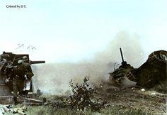 Flak 88 in work.