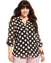 Plus Size Tops - Womens Plus Size Blouses & Shirts - Macy's