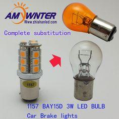 NEWS led Brake lights P21/5W LED light Car leds styling  BAY15D Car led Bulbs Lamp  Light Source