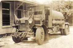 Decatur County History: Oil Spraying Truck belonging to Allen ChitwoodAlle...