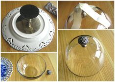 DIY Cake Stand and Domed Cake Plate