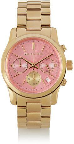 Michael Kors Gold-tone watch