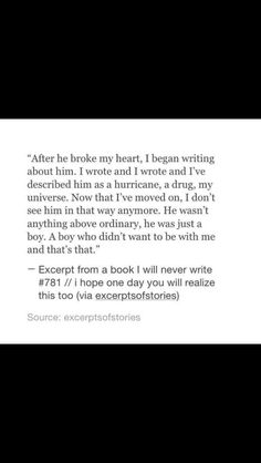 I hope someday I will feel this way about him
