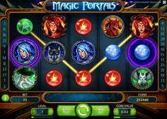 New Magic Portals slot - http://cp4w.com/net-entertainment-slots/magic-portals.html