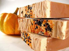 Gorgeous, yummy handmade soaps--try not to eat them ;)
