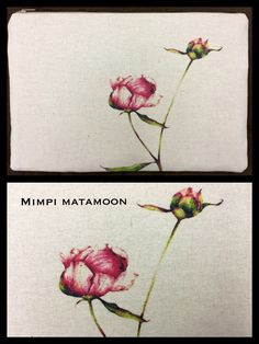 4 of 12 Nature #mimpimatamoon #pouches #madeinmalaysia MYR116.Hand dyed print on both sides unless stated otherwise.