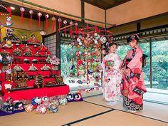 雛祭り Japanese Traditional Dolls, Traditional Art, Japanese Kids, Japanese Design, Happy Girls Day, Vietnam, Washitsu, Hina Matsuri, Hina Dolls