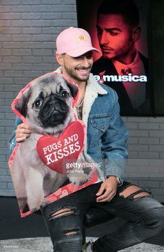 Singer Maluma visits SBS Broadcast Center and La Musica on February 9, 2017 in Miami, Florida.