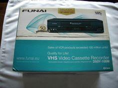 258) FUNAI VHS Video Kassetten Rekorder, NEU + OVP, Preis 310€
