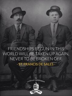 Catholic friendship