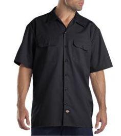 Short Sleeve Work Shirt | Men's Big & Tall Shirts | Dickies.com    http://www.dickies.com/mens-clothing/mens-big-tall/mens-big-tall-shirts/Industrial-Color-Block-Long-Sleeve-Shirt-LL524.jsp#