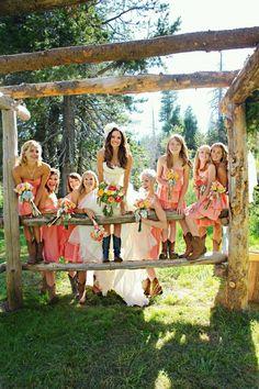 Country wedding.. love!