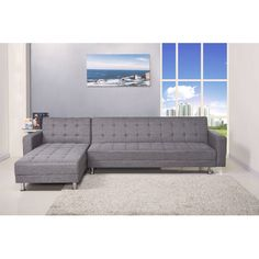 Found it at Wayfair - Reversible Chaise Sleeper Sectional