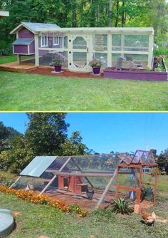 Chicken Coop - Keeping chicken in the backyard is really fun, as you will always have fresh eggs and cute pets at home. So if you have a little free space, you could consider building a chicken coop, even though you are only having a tiny backyard. We have found a round up of chicken coop designs that [...] #BackyardChickensTips Building a chicken coop does not have to be tricky nor does it have to set you back a ton of scratch.