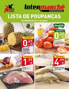 Antevisão Promoções Folheto Intermarché - de 5 a 11 de agosto - Lista de Poupanças