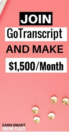 GoTranscript has amazing online transcription jobs for beginners. These are audio transcription jobs you can do from home. Best transcription jobs ever! make money online Earn Money From Home, Earn Money Online, Make Money Blogging, Online Jobs, Way To Make Money, Online Careers, Money Tips, Money Fast, Online Income