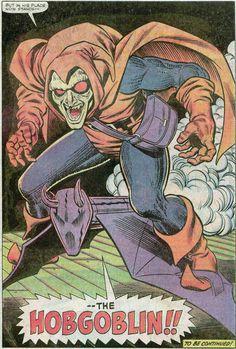 The Hobgoblin! by John Romita Jr. From Amazing Spider Man #238