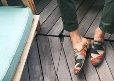 Artemis Design Co. Kilim Slippers