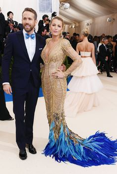 Ryan Reynolds and Blake Lively@ 'Rei Kawakubo/Comme des Garcons: Art Of The In-Between' Costume Institute Gala, New York | May 1, 2017