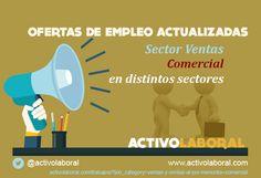 """activolaboral en Twitter: """"OFERTAS de EMPLEO actualizadas en VENTAS como COMERCIAL en distintos sectores http://t.co/kDZH8XKIFF @activolaboral http://t.co/iBbbgubDPF"""""""