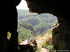 Caves of Geghard served as a hiding place for Armenian monks from hostile nations.