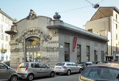 The Cinema Dumont - The Cinema Dumont, in liberty style (Art Nouveau) was the first cinema in Milan (1910...hundred ys ago!). Nowadays is a library. Il Cinema Dumont, prima sala cinematografica di Milano (1910...cento anni fa!), in stile liberty. Oggi è una biblioteca.