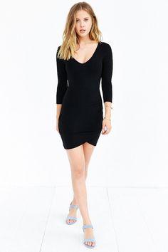 0b5eae77b56 Kimchi Blue V-Neck Wrap Skirt Dress. Daytime OutfitUrban DressesSexy ...