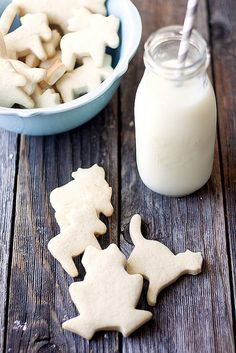 animal crackers and milk by Heather| French Press, via Flickr