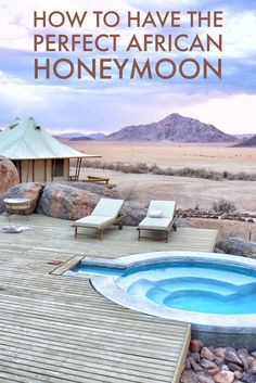 Africa is the perfect place to have a wonderful and romantic honeymoon. Here are the best places to honeymoon in Africa.