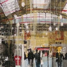 Julian SUTHERLAND-BEATSON-Victoria Station, London