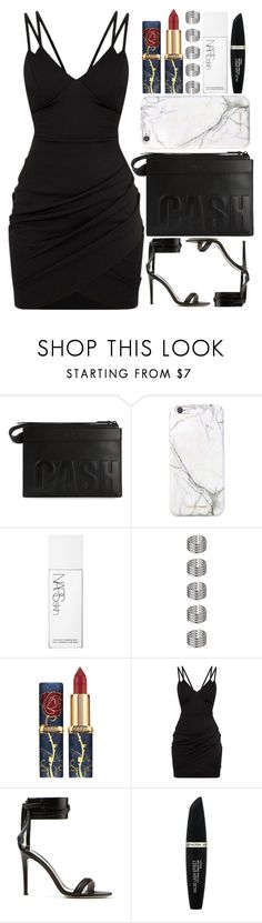 """Tables turn, bridges burn, you live and learn"" by ginga-ninja ❤ liked on Polyvore featuring 3.1 Phillip Lim, russell+hazel, NARS Cosmetics, Topshop, Jason Wu and Max Factor"