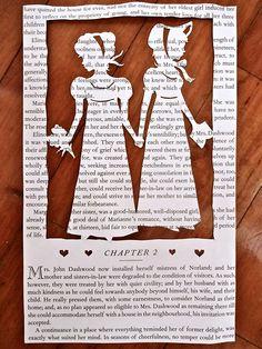 The Dashwood Sisters - Sense & Sensibility