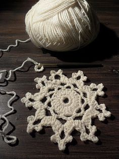crocheted snowflakes: Instructions in Finnish Crochet Stitches, Knit Crochet, Diy And Crafts, Arts And Crafts, Crochet Angels, Crochet Decoration, Crochet Snowflakes, Scandinavian Christmas, Some Ideas