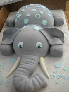 Elephant cake boy or girl